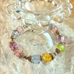 Jewelry - Colorful crystal bracelet